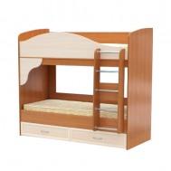 Кровать двухъярусная (с матрасами) картинка