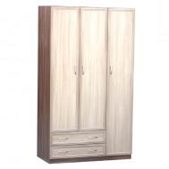 Шкаф для платья и белья 3-дверный картинка