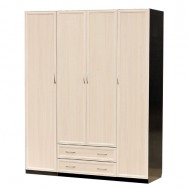 Шкаф распашной 4-дверный картинка