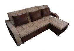 """Угловой диван """"Пума"""" со спальным местом картинка"""