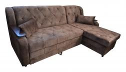 """Угловой диван-кровать """"Азалия"""" со стяжкой картинка"""