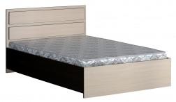Кровать 2-спальная с прямой спинкой картинка